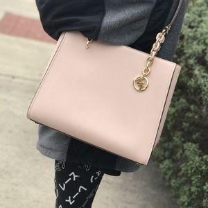 Michael Kors Sofia Large Chain Tote Shoulder Bag